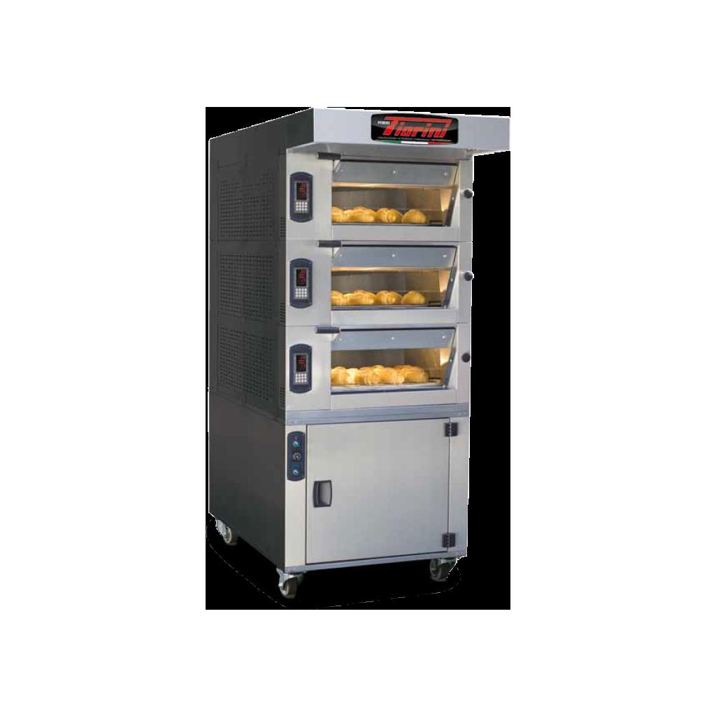 FIORINI Electric Oven 3 DECK + STEAM (SIMPLY 2T)