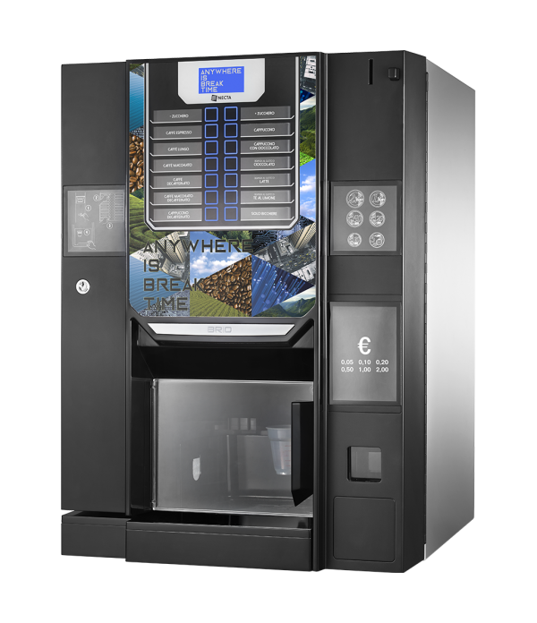 NECTA Hot drinks vending machine (Espresso ) - Brio up