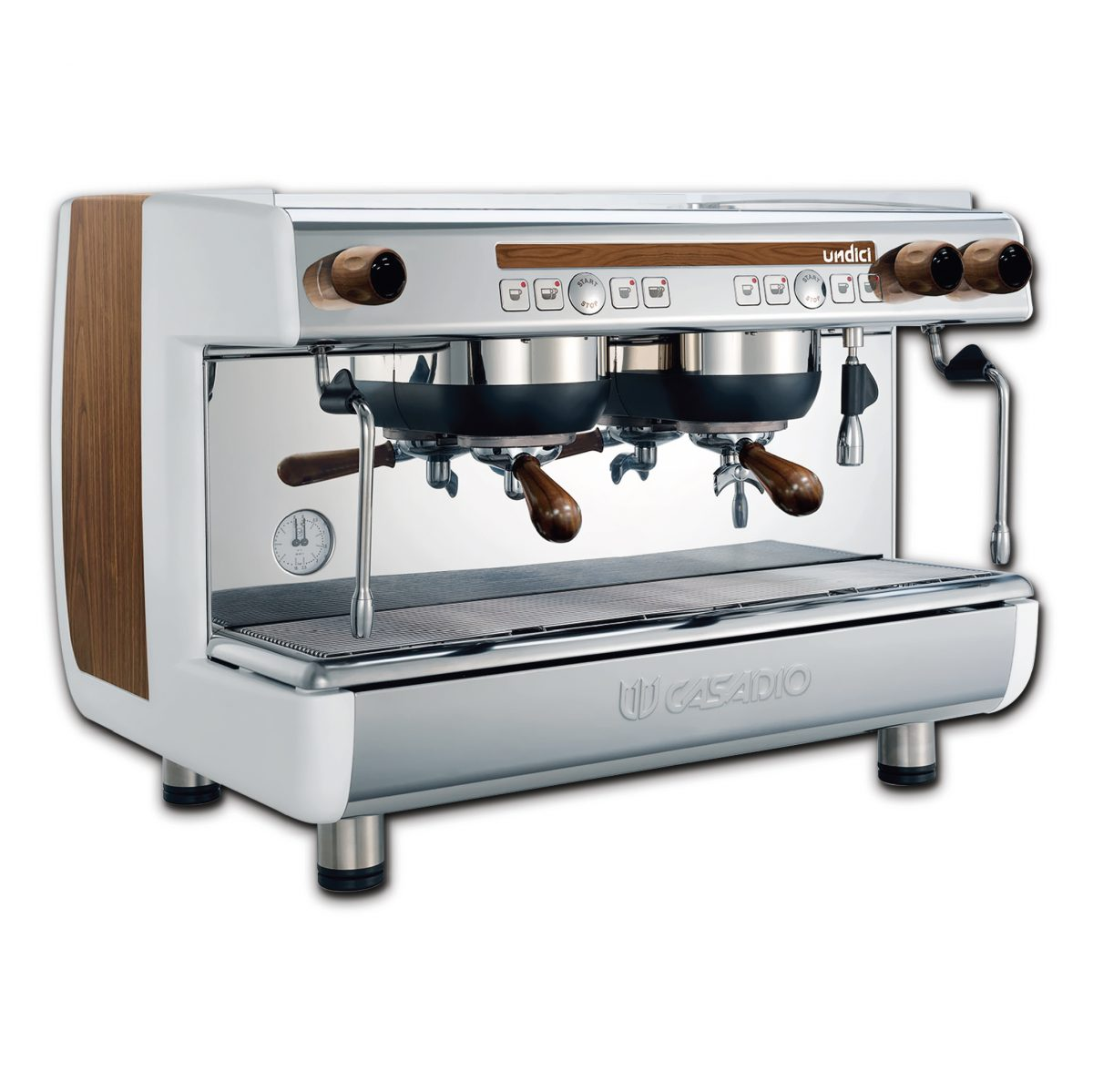 Automatic Coffee machine - with 2 group (wood)