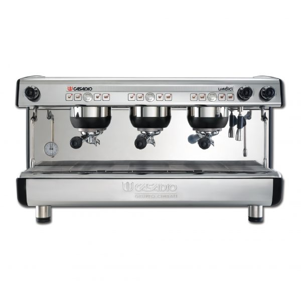 Coffee machine - with 3 group (S/S) automatic